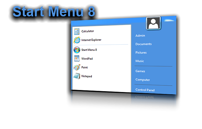 Win8'e Başlat Menüsü: Start Menu 8